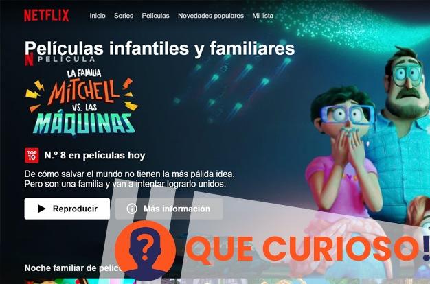 código secretos de Netflix peliculas infantiles y familiares