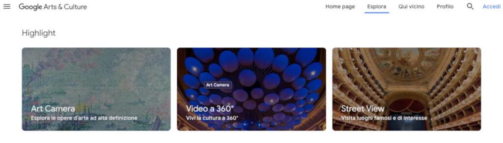 como visitar museo online ejemplo Google Arts & Culture
