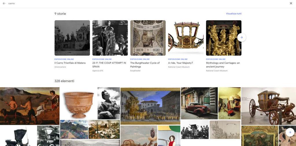 como visitar museo online ejemplo Google Arts & Culture opera
